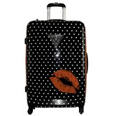 "Polka Dot Kiss 29"" Hardsided Spinner Suitcase"