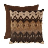 Ikat Chevron Floor Pillow