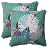 Palma Corded Throw Pillow (Set of 2)