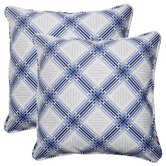 Pretty Edge Corded Throw Pillow (Set of 2)