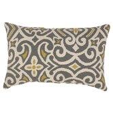 Damask Rectangular Throw Pillow
