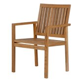 Barlow Tyrie Teak Outdoor Dining Chairs