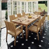 Windsor 9 Piece Dining Set