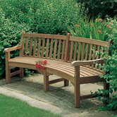 Glenham Curved Bench