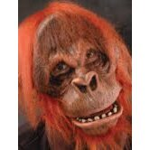 Moving Mouth Super Action Orangutan Mask