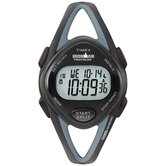 Ironman Midsize 50 Lap Watch in Black
