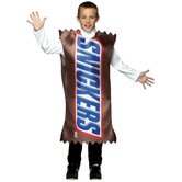 Snickers Wrapper Child Costume