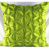 Felt Poinsettias Pillow