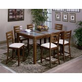 Glacier Creek 7 Piece Counter Height Dining Set