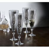 Reflections 5.75 oz. Champagne Flutes (Set of 4)
