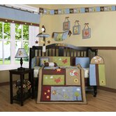 Boutique Airplane Aviator 13 Piece Crib Bedding Set