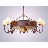 Ponderosa Pine 3 Light Chandelier