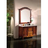 Bordeaux Single Bathroom Vanity Set