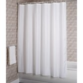Woven Stripe Fabric Shower Curtain