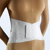 Criss Cross Lumbosacral Support in White
