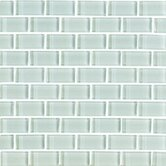 Shimmer 1&quot; x 2&quot; Glossy Mosaic in Snowdrift