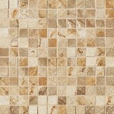 "Vesale Stone 1"" x 1"" Decorative Square Mosaic in Sand"