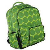 Big Dots Large Backpack in Green
