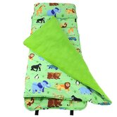 Olive Kids Wild Animals Nap Mat in Green