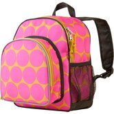 Big Dots Hot Pink Pack'n Snack Backpack