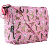 Horses in Pink Kickstart Messenger Bag