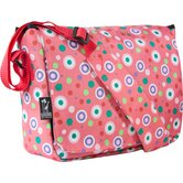 Polka Dots Kickstart Messenger Bag