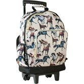 Horse Dreams High Roller Rolling Backpack