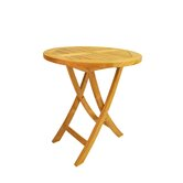 Bahama 27&quot; Round Bistro Folding Table