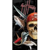 Guy Harvey Save Our Seas Pirate Towel