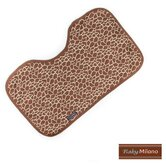 Baby Burp Cloth in Giraffe Print