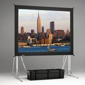 Dual Vision Truss Fast Fold Complete Front and Rear Projection Screen - 10' x 10'