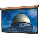"Veneer Model B Heritage Walnut Projection Screen - Matte White - 60"" x 80"" Video Format"