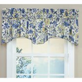 Imperial Dress Valance in Porcelain