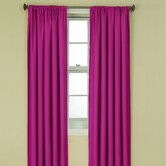 Kendall Kids Blackout Window Panel in Raspberry