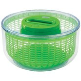 Easy Spin Salad Spinner 4-6 Servings in Green