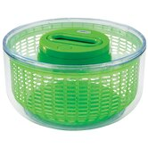 Smart Touch Salad Spinner 2-3 servings in Green