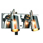 Silhouette Two Light Wall Sconce in Chrome