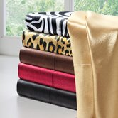Solid Satin 6 Piece Sheet Set