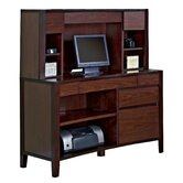 "Weston 48"" Credenza Desk with Hutch"