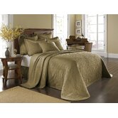 King Charles Matelasse Bedding Collection in Birch