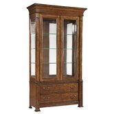 European Legacy Tall China Cabinet