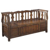 Havana Wooden Storage Bench
