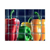 Peppers Kitchen Tile Mural