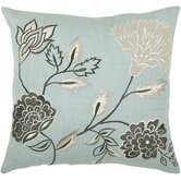 "T-3778 18"" Decorative Pillow in Aqua Blue"