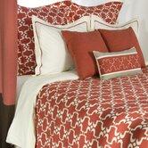 Snazzy Bedding Set in Paprika