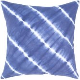Navy and White Decorative Pillow