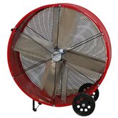 "24"" Barrel Fan in Yellow"
