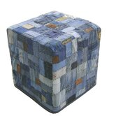 Denim Cube Ottom