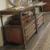 European Farmhouse Patron's Console Table