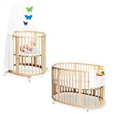 Sleepi Bassinet and Crib Set in Natural
